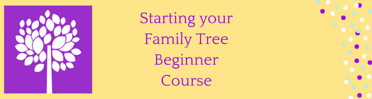 Starting your Family Tree Beginner Course