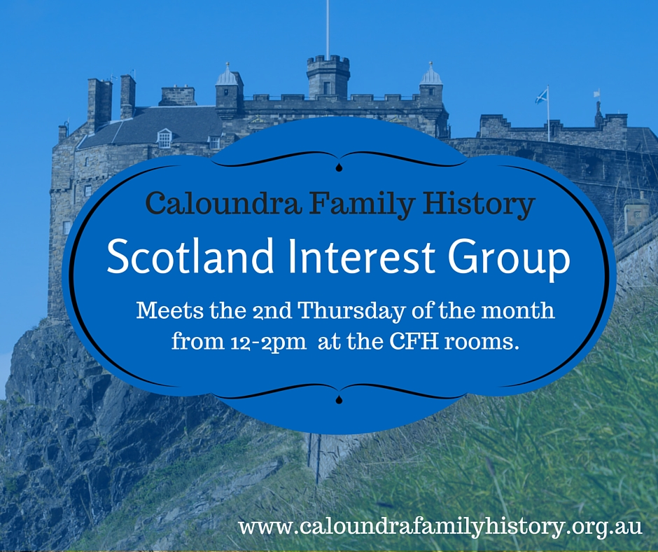 Scotland Interest Group Meeting