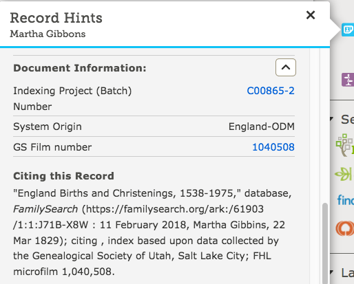 FamilySearch example part 3