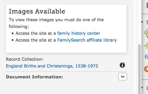 FamilySearch example part 2