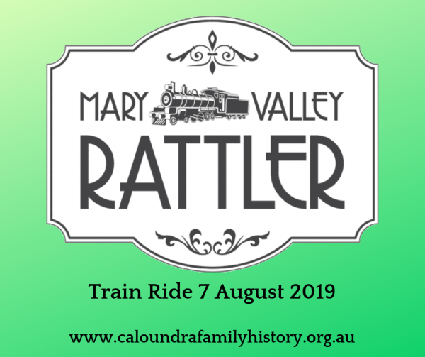 Mary Valley Rattler Train Trip