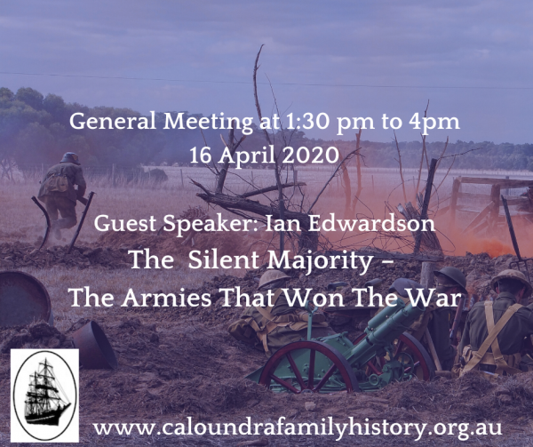 The Silent Majority – The Armies That Won The War and general meeting