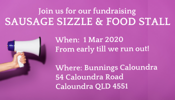 Sausage Sizzle and Food Stall