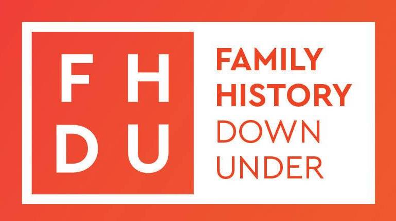 Family History Down Under Logo