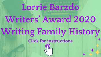 Lorrie Barzdo Writers' Award 2020