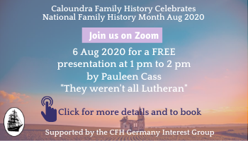 Zoom: Germany Interest Group with Pauleen Cass